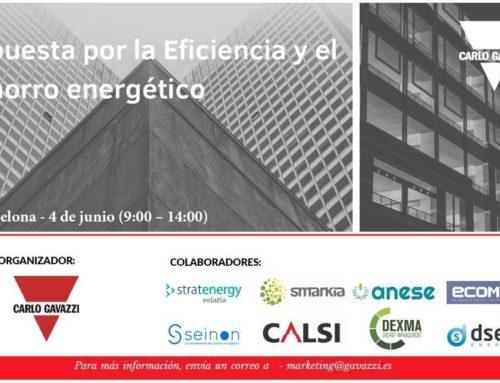 Seminario «Apuesta por la Eficiencia y el Ahorro energético»