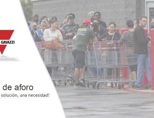 CARLO GAVAZZI – CONTROL DE AFORO EN TIEMPO REAL